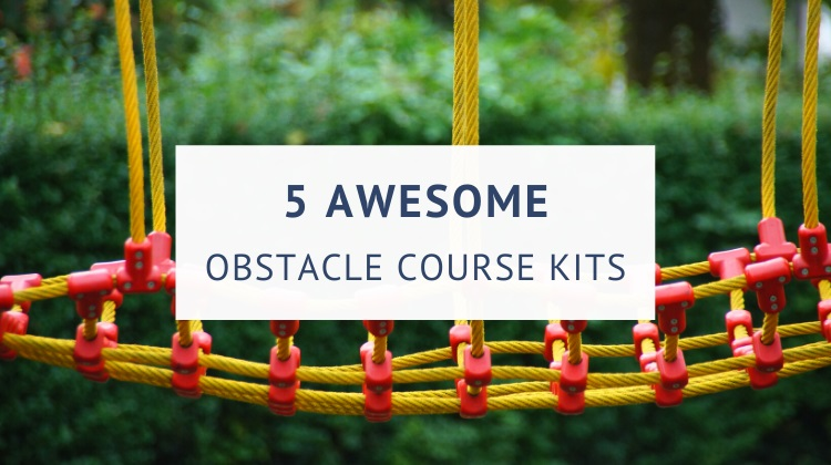 Backyard obstacle course kits