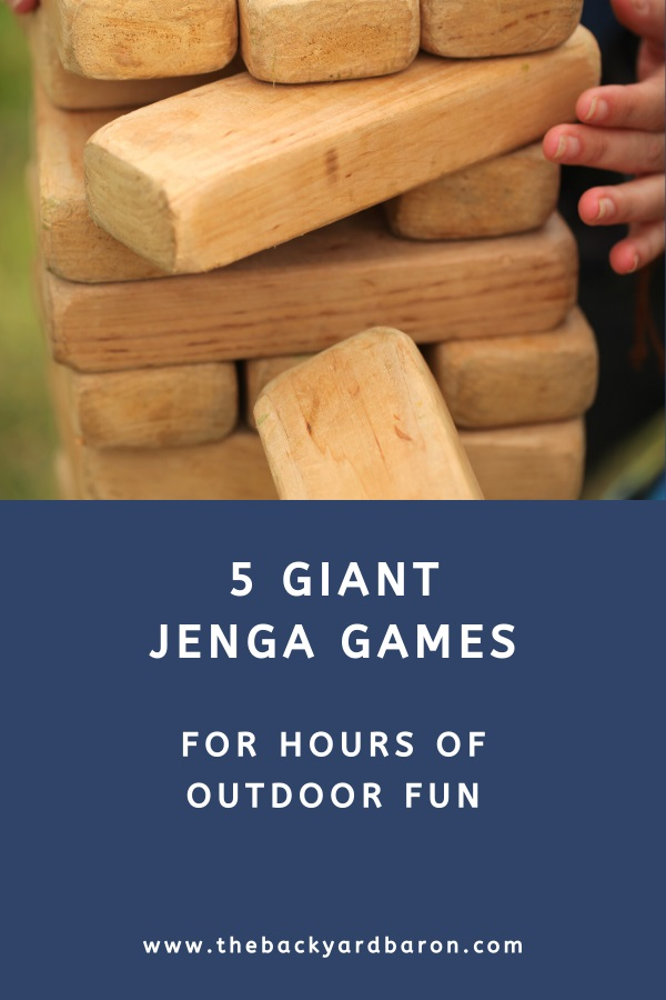 Giant outdoor Jenga sets (buying guide)