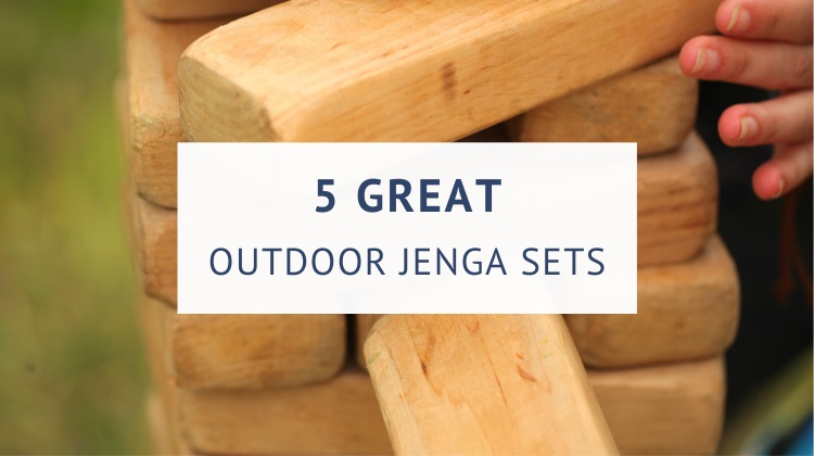 Best giant outdoor Jenga sets