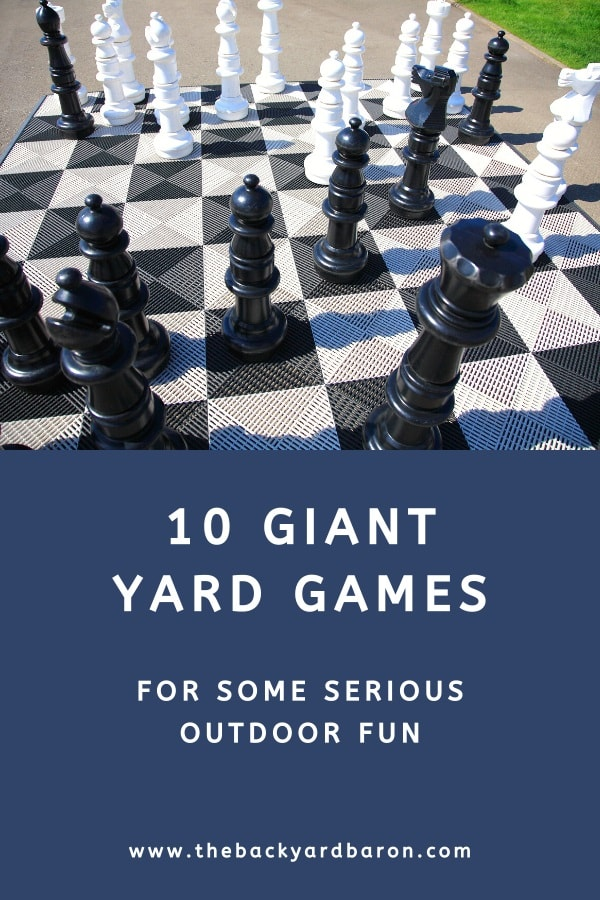 10 Giant yard games for outdoor fun