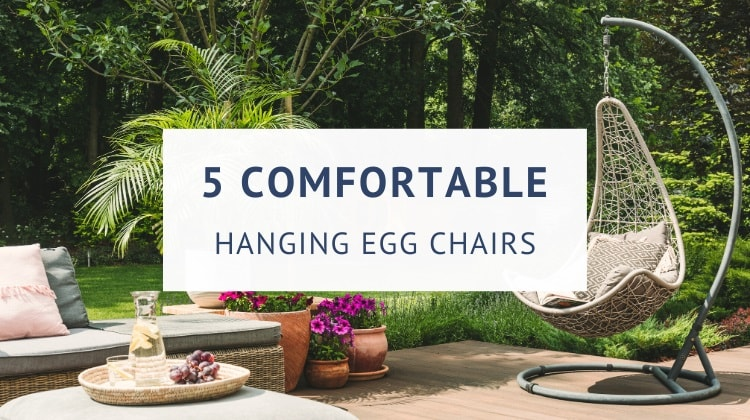 Best outdoor hanging egg chairs with stand