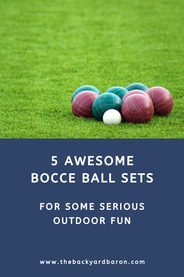 5 Awesome bocce ball sets for outdoor fun in the yard