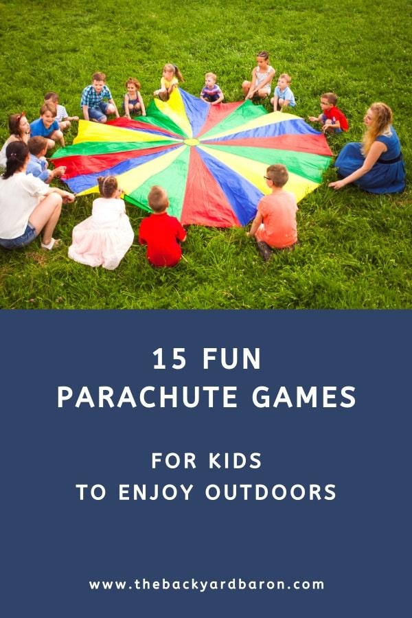 15 Fun parachute games for kids
