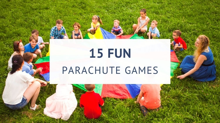Outdoor parachute games for kids