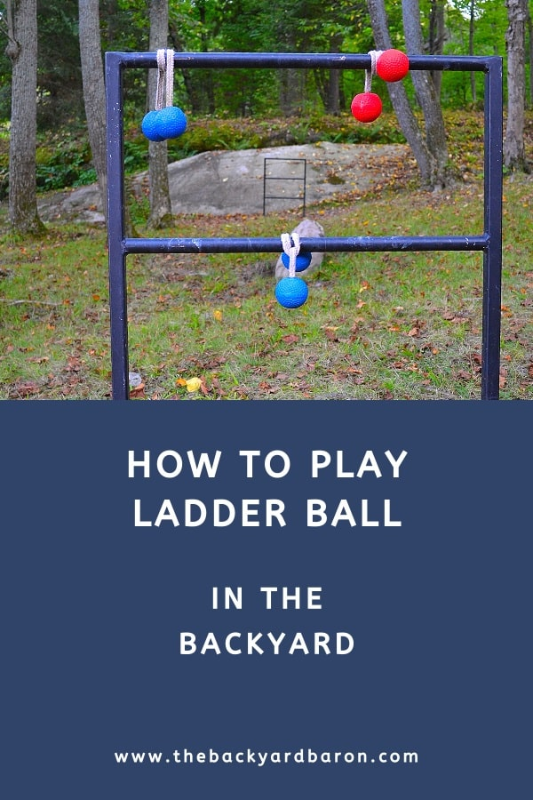 How to play ladder ball