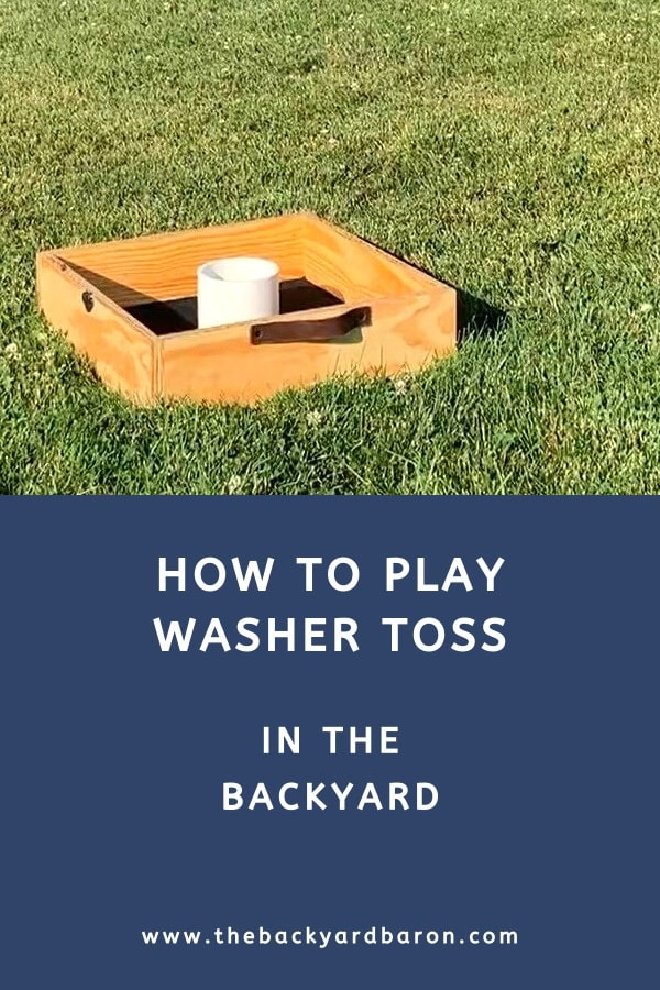 How to play washer toss