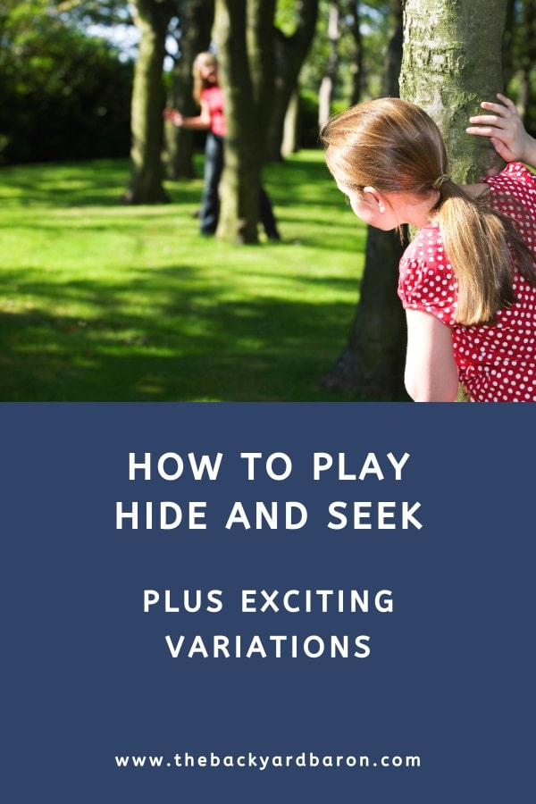 How to play the hide and seek game