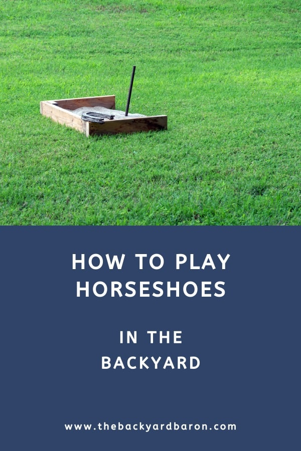 How to play horseshoe pitching