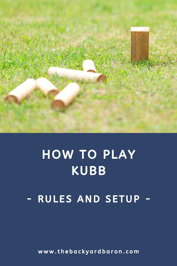Learn how to play Kubb
