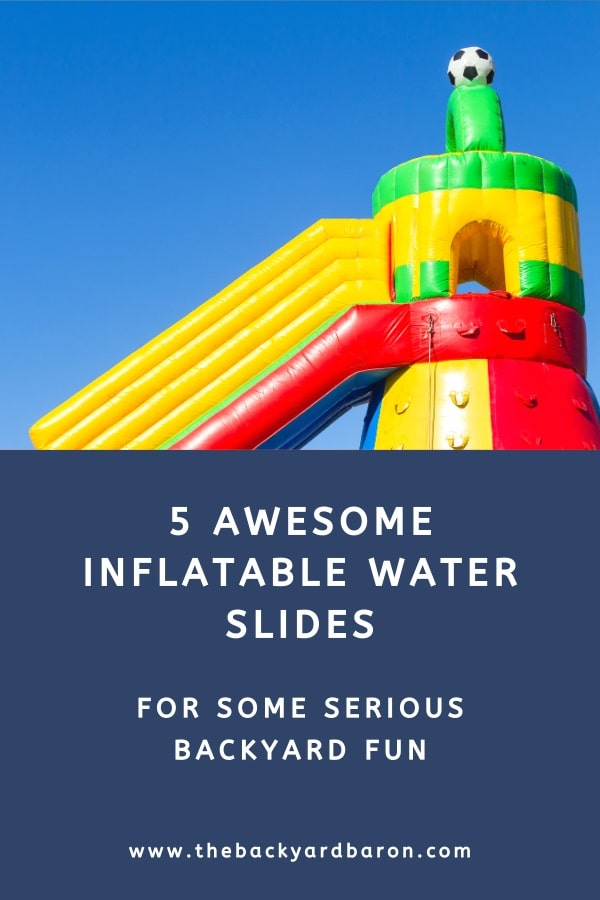 Best inflatable water slides for backyard fun