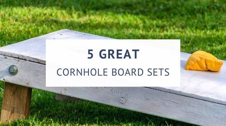 Best outdoor cornhole board sets