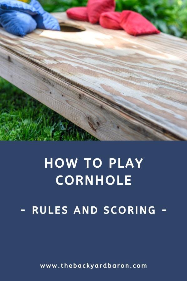 Learn how to play cornhole