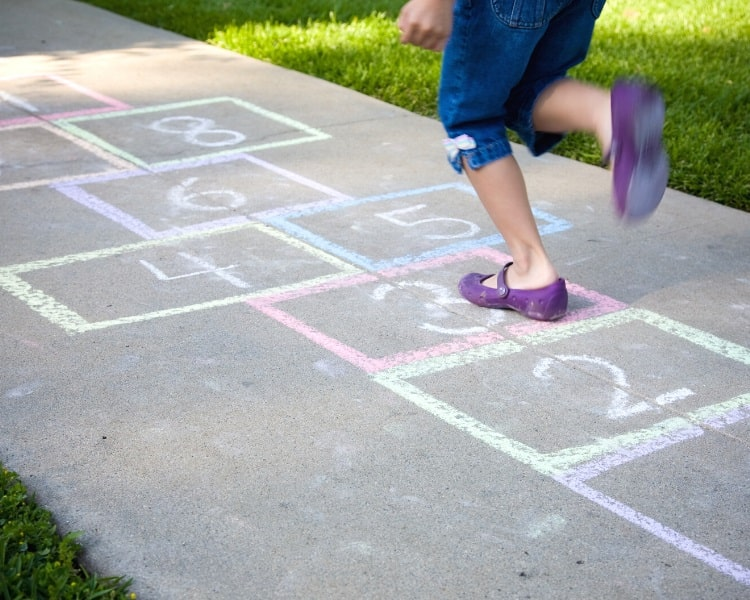 Hopscotch in action