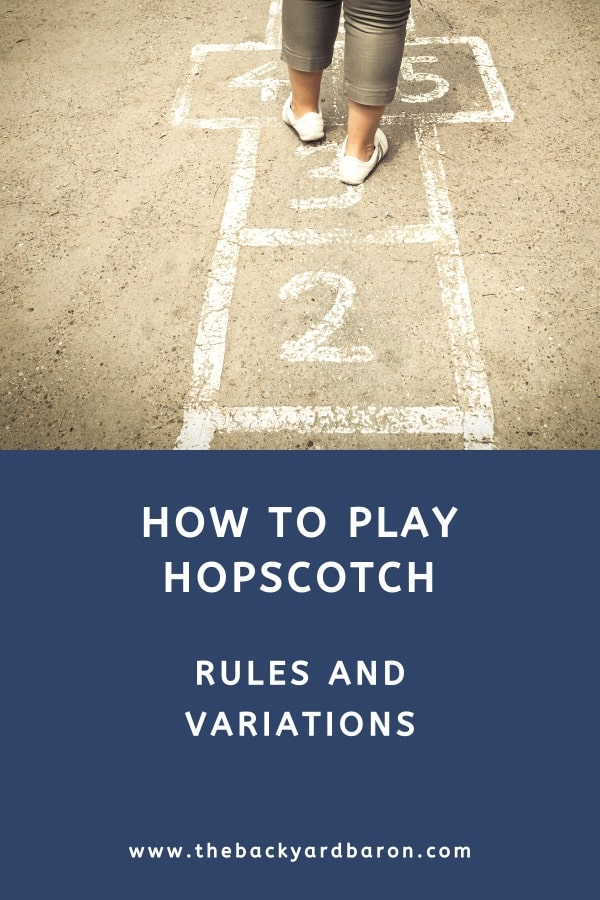 Learn how to play traditional hopscotch