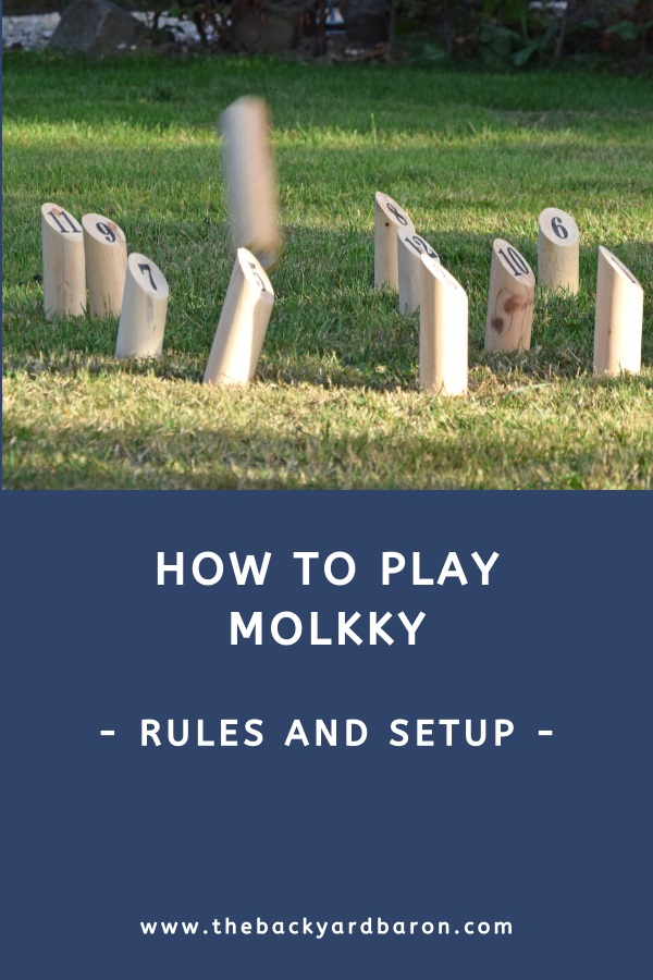 Learn how to play Molkky for beginners