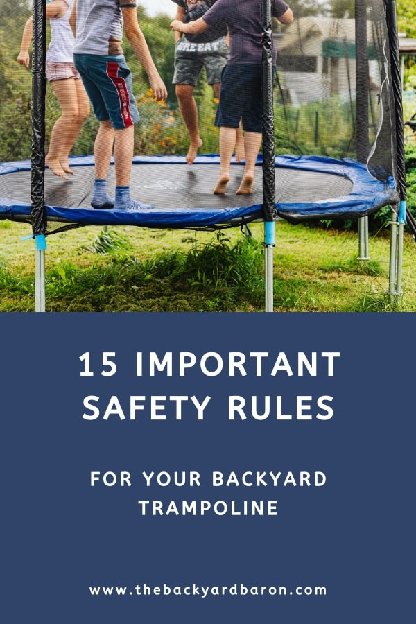 15 Trampoline safety rules for kids