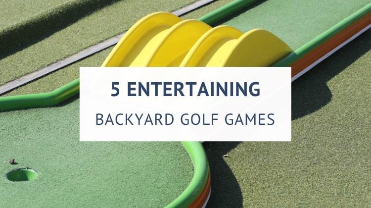Backyard golf games