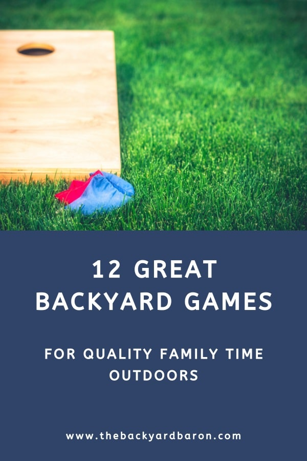 12 Best family backyard games