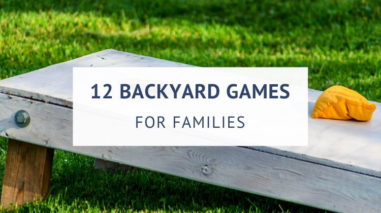 Best backyard games for families
