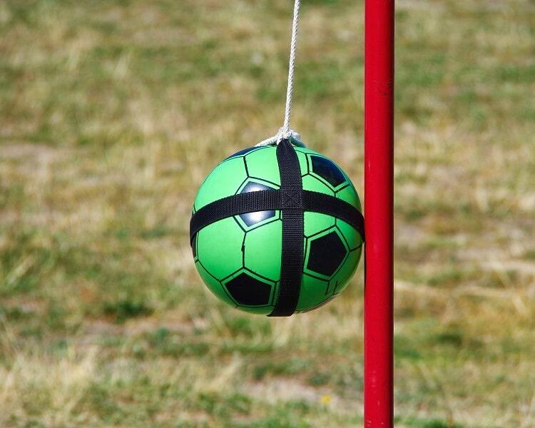 Tetherball pole