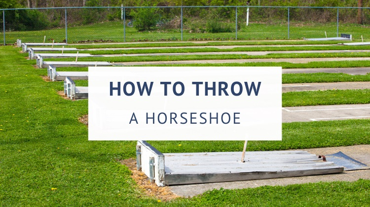 How to throw a horseshoe (grips and techniques)