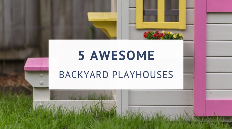 Best outdoor playhouses for toddlers and kids