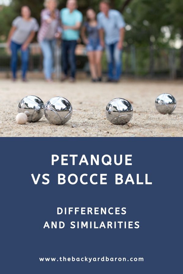 Differences between petanque and bocce explained