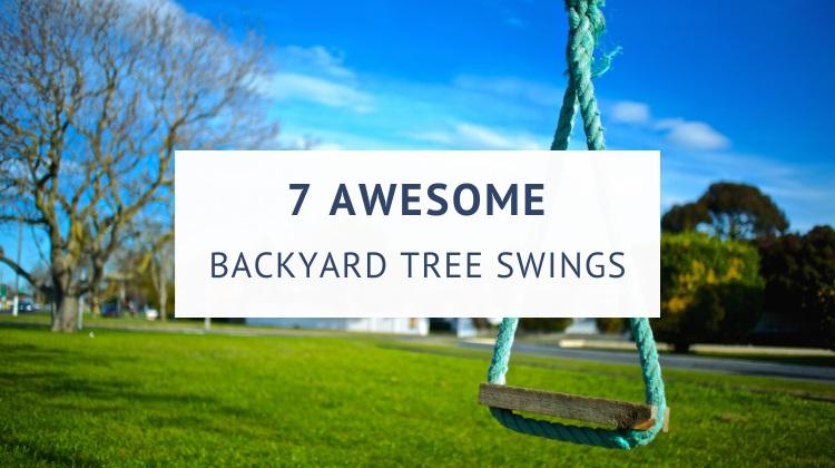 Best tree swings for kids