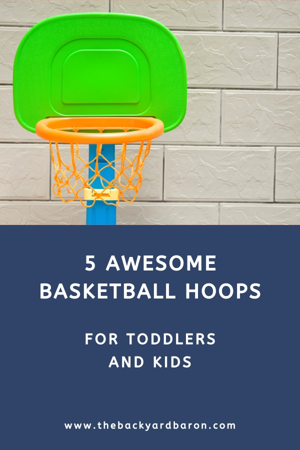 Best outdoor portable basketball hoops for toddlers