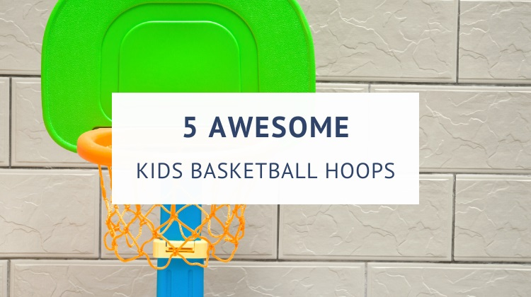 Portable basketball hoops for toddlers and kids