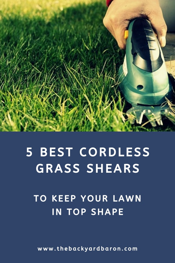 Top 5 cordless grass shears for lawn maintenance