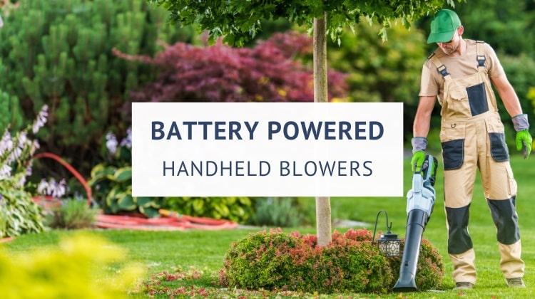 Best battery powered handheld leaf blowers