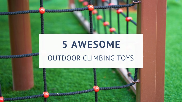 Best outdoor climbing toys for kids