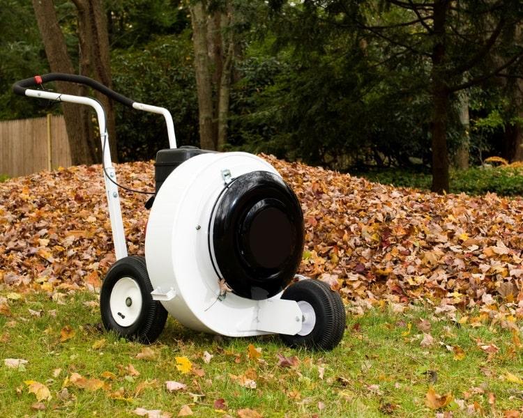 Walk-behind leaf blower
